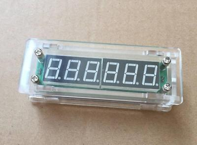 PLJ-6LED-A RF Signal Frequency Counter Cymometer Tester 0.1 MHz ~ 65 MHz  + Case