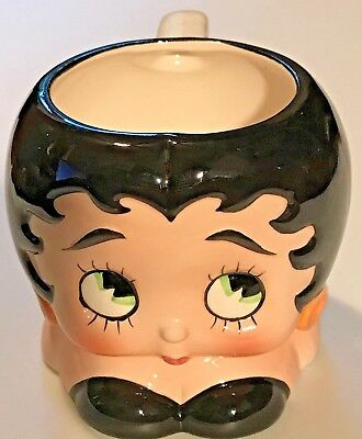 Vintage 1981 Vandor Betty Boop Mug Hand Painted Japan Ceramic Figural Cup
