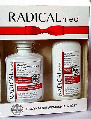 Radical Med Set, Shampoo+Conditioner in Spray 300ml+ 200ml / Accelerates growth