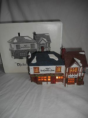 Dept 56 Dickens Village The Old Curiosity Shop #59056 1987 Retired With Box