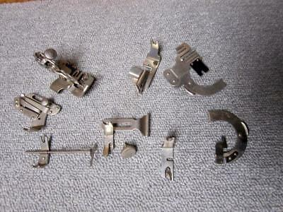 Group Of Vintage Singer Sewing Machine Back Clamp  Attachments Rear Mount