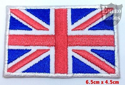 Union Jack Original Flag Embroidered Sew/Iron on Patch/badge (Small)