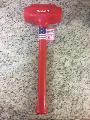Trusty-cook 88 Oz Soft Face Sledge Dead Blow Hammer Model 7