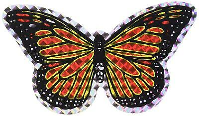 "StealStreet 52068 Butterfly Decorative Screen Refrigerator Magnet, 5"", Orange"