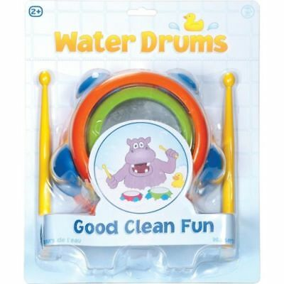 Water Drums Bath Time Fun Game Kids Toddler Water Musical Early Learning