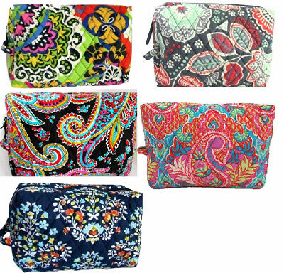 Nwt Vera Bradley Large Cosmetic Great Patterns