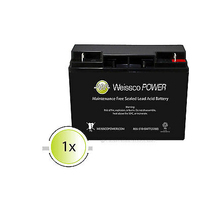 Replacment Mighty Max 12V 18AH Sealed Lead Acid Battery Replacement For FM12180