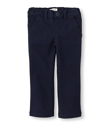 Sz 4 Navy Children's Place Pants, Adjustable Waist - In Great Condition!