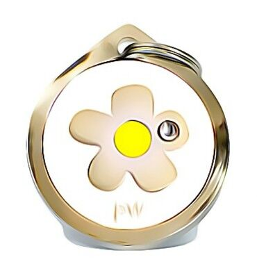 Best Quality Personalised DAISY Pet Dog Cat ID Collar Tags Discs FREE  DELIVERY