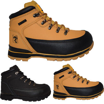 buy online 6f113 9d413 LADIES ULTRA LIGHTWEIGHT Steel Toe Cap Safety Boots Womens Lace Up Work  Shoes Sz