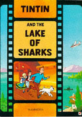Lake of Sharks (The Adventures of Tintin)-ExLibrary