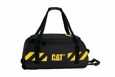 CAT Bucket Loader Wheeled Duffel Black One Size