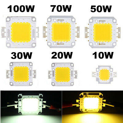 10W20W30W50W70W100W Chip  High SMD Flood Power  LED Bead Light for Bulb 1-10pcs