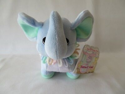 Precious Moments Tender Tails Circus Birthday Train Elephant 4 Years Plush NWT