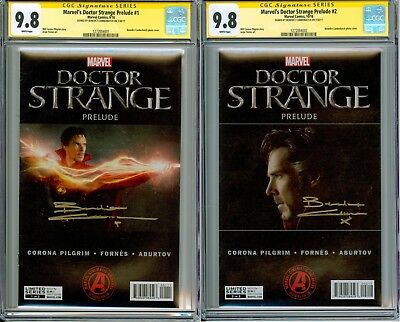 Doctor Strange Prelude #1 and #2 CGC 9.8 SS signed by Benedict Cumberbatch