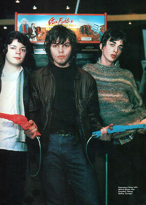 Supergrass - Full Page Magazine Picture Photo Cutting - Gaz Coombes / Britpop