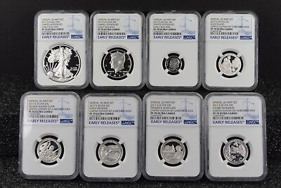 2017 S Limited Edition Silver Proof Set NGC PF70 Ultra Cameo ER - 8 Coin Set