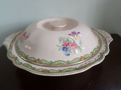 'Hanford / Rosedawn' pink floral Tureen / Vegetable Dish & lid, Johnson Brothers