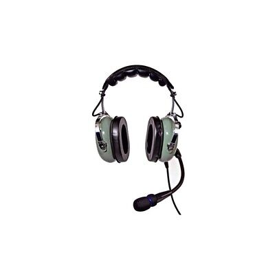 Nicepower Pilot An-1000Ac Active Noise Cancelling General Aviation Headset (Gree