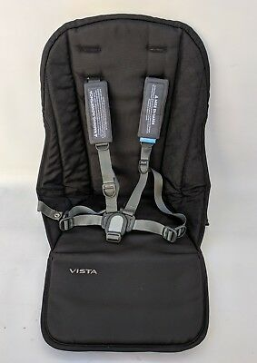 Uppababy vista 2015 and later seat fabric Jake black only
