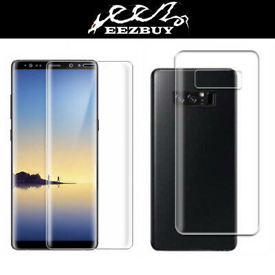 2X (2 Front + 2 Back)3D PET FULL BODY Screen Protector For Samsung Galaxy Note 8