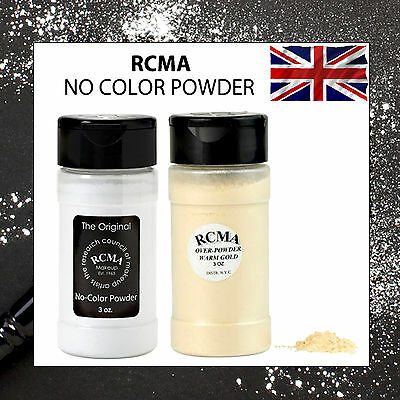 100% RCMA No-Color Powder Setting Powder The Original & Warm Gold Destiny's