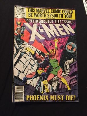 Uncanny X-Men #137, VG- 3.5, Death of Phoenix