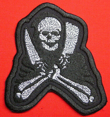 Chef Patch Reaper Chef Skull  Iron/Sew on Patch