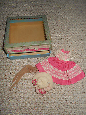 Vintage Madame Alexander  Cissette doll outfit in original box