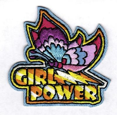 GIRL POWER Fun Patches Crests Badges SCOUTS GUIDE empowerment feminism activism