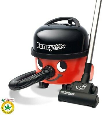 Floorcare Henry Micro Vacuum Cleaner with Hairo Brush, Red Floor Cleaning Supply