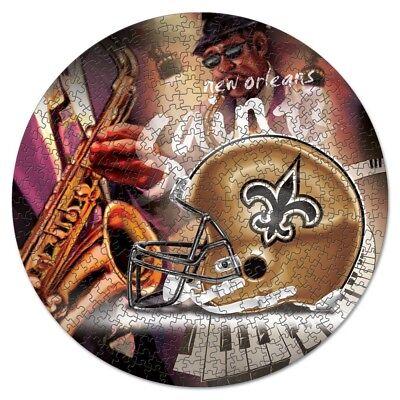 New Orleans Saints Wincraft NFL 500pc Puzzle in box FREE SHIP!