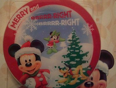 Disney Mickey Mouse Happy Holiday Night Light Holiday Decorations Baby Room NEW