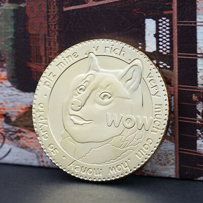 WOW DOGECOIN Commemorative Coin Collection Gift NEW#