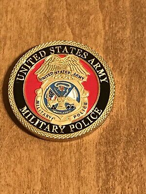 US Army Military Police Challenge Coin Y16