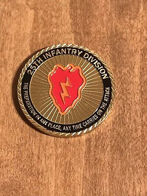 US Army 25th Infantry Division Challenge Coin Y18