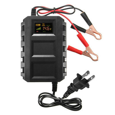 12V 20A ATV Motorcycle Smart Charger Acid Battery Lead Charging Tool Universal
