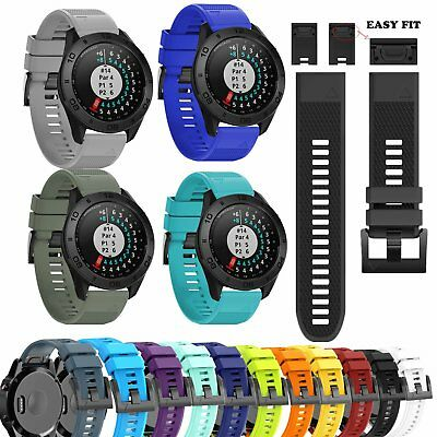 22MM Sports Silicone Wrist Band Strap for Garmin Approach S60 Golf GPS Watch New