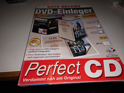 Data Becker DVD-Einleger ohne Perforation