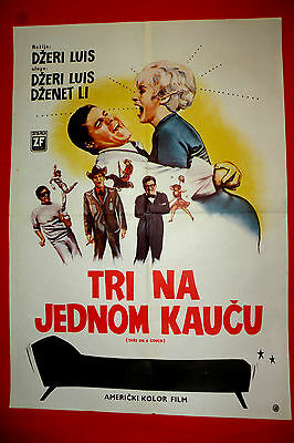 Three On A Couch 1966 Jerry Lewis Janet Leigh Mary Ann Mobley Exyu Movie Poster