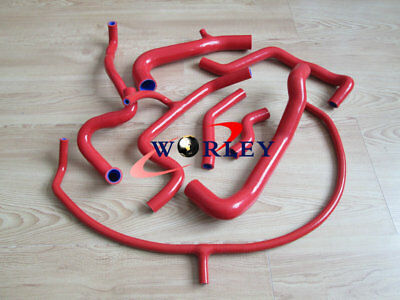 Silicone Radiator Hose Vw Golf/jetta Mk3 A3 Vr6 2.8/2.9 Aaa/abv Engine Non-Us Rd