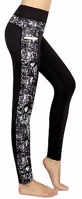 Women's Exercise Workout Pants Fitness Running Leggings with pockets Yoga Shorts