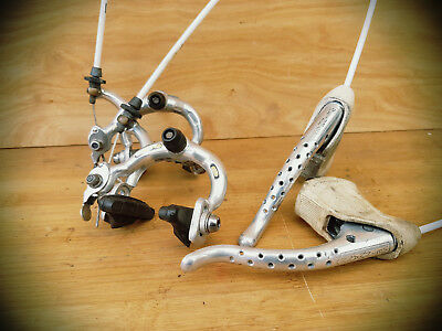 weinmann 605 brake set - levers & calipers - VGC - campagnolo record rival PX10