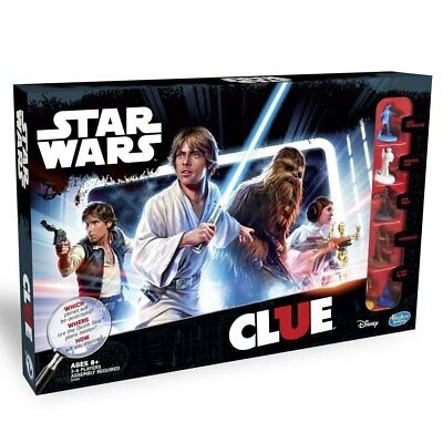 NEW Cluedo Star Wars Edition Board Game from Purple Turtle Toys
