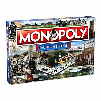 Monopoly Taunton Edition Family Property Trading Board Game