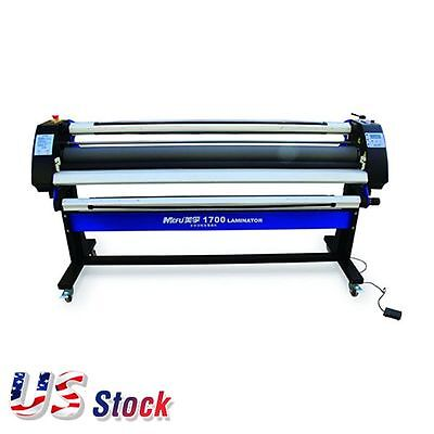 "US - 67"" Economical Full-auto Cold Laminator Single-Side Heat-Assis Laminator"
