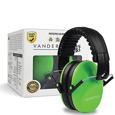 Ear Defenders for Kids Toddlers Children Babies Hearing Protection Green Trooper