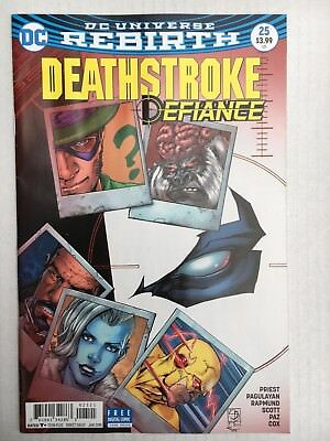 DC Comics: Rebirth Deathstroke #25 Variant Cover 2018 - BN - Bagged and Boarded