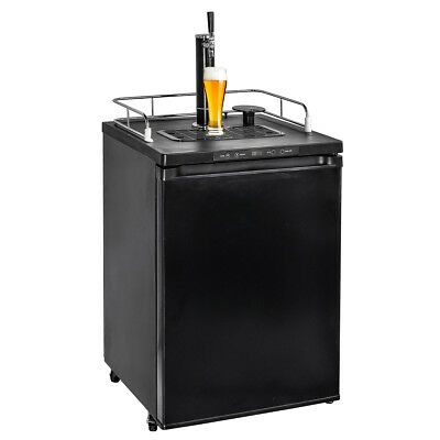 5.6 cu ft Temp Kegerator Fridge Draft Beer Dispenser CO2 Tank Home Brewers Bar