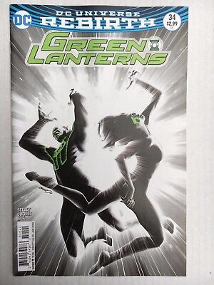 DC Comics: Green Lanterns #34 Variant Cover - BN - Bagged and Boarded